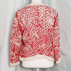 Chico's Sweaters - Chico's Abstract Cardigan Sweater